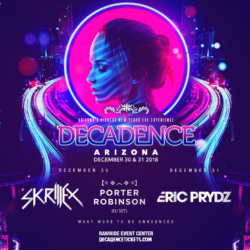 decadence arizona lineup